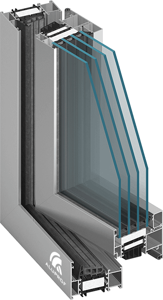 aluminium kozijn MB 86